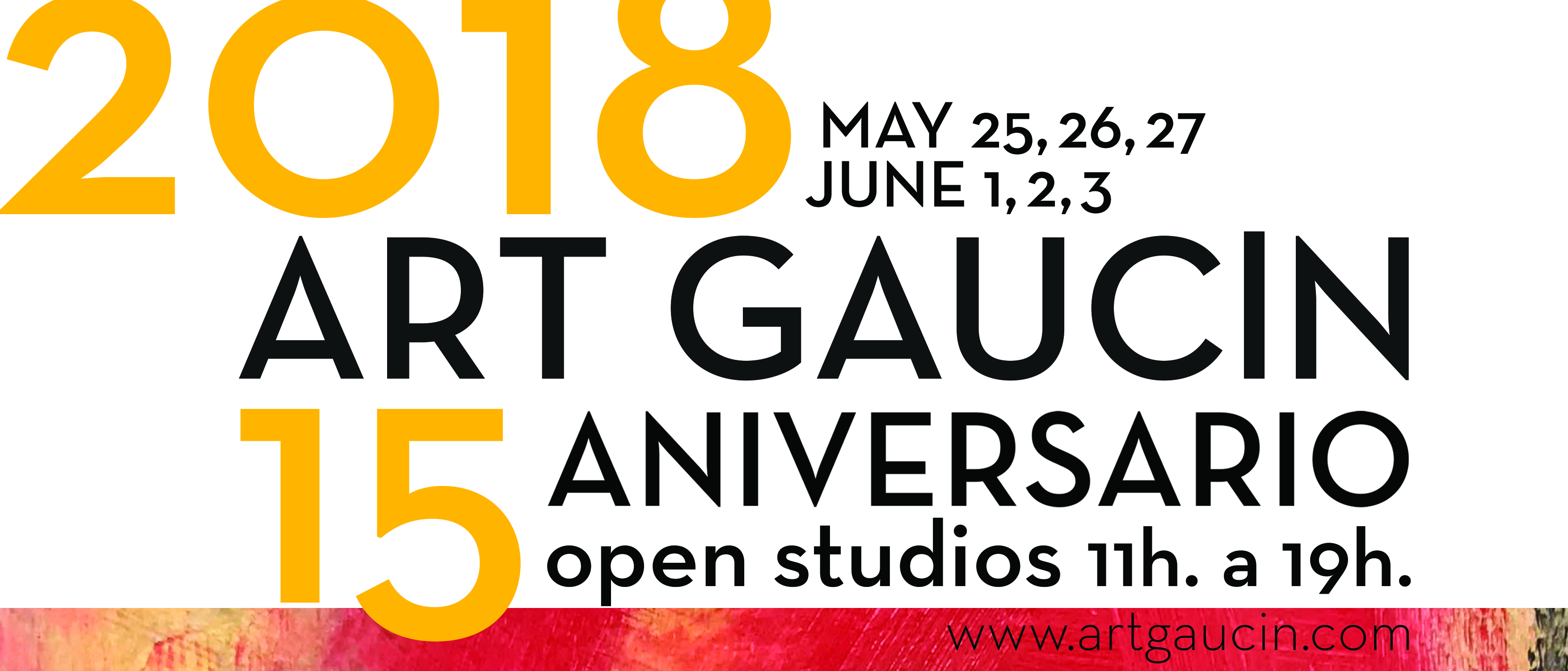 Art Gaucín 2018. Visitors' guide.