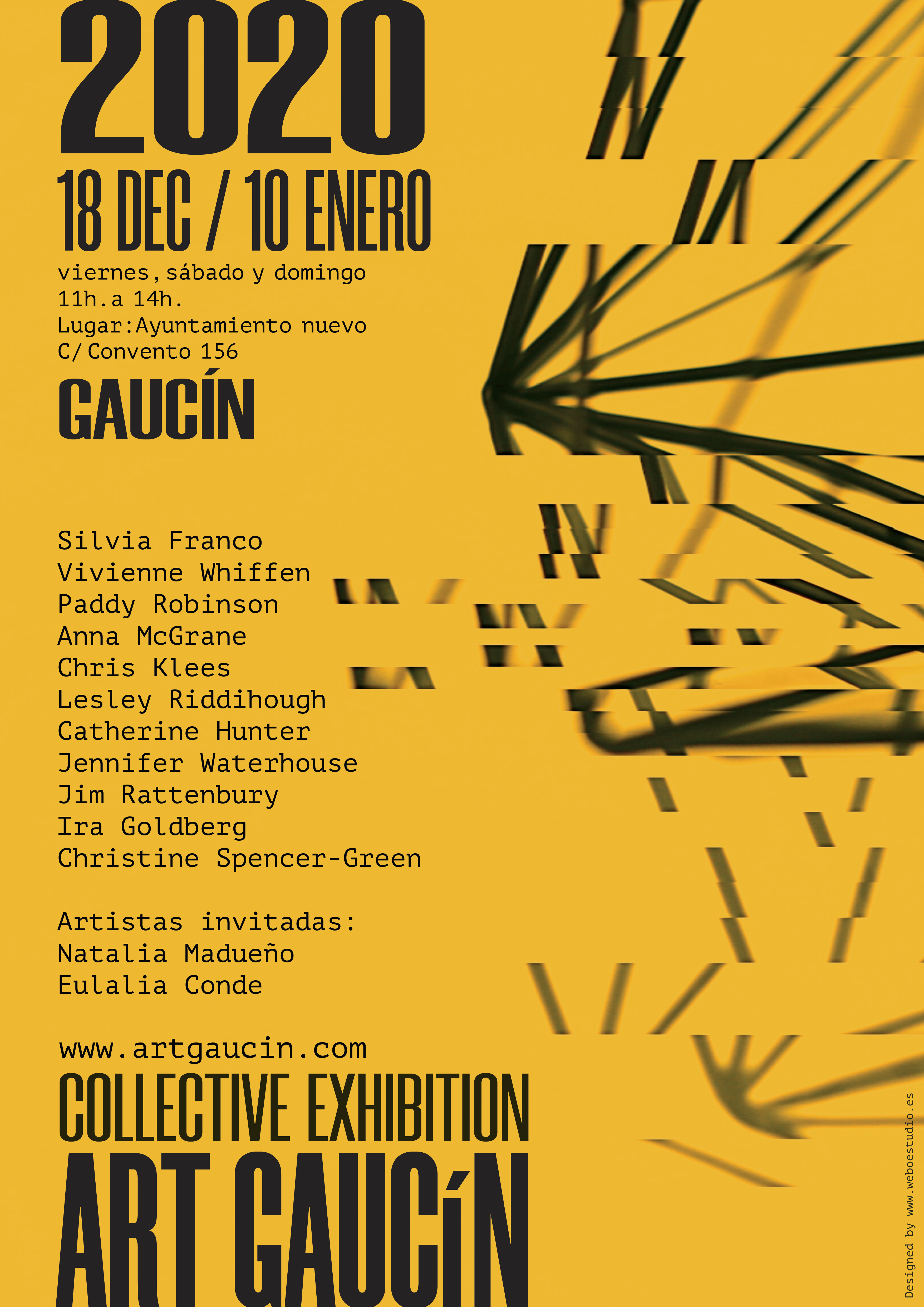 THE NEW ART GAUCÍN COLLECTIVE EXHIBITION IS OPENINIG